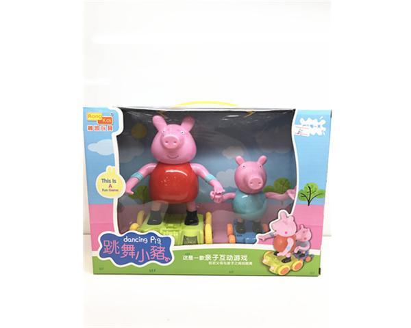 小猪佩奇-跳舞小猪-龙会易购-扬州宏创科技