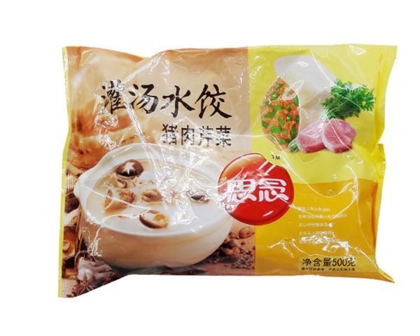 思念灌汤水饺500g
